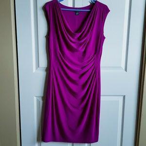 Ralph Lauren Woman Purple Violet Party Dress Sz.14